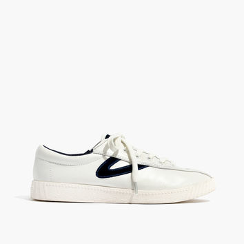 Tretorn® Nylite Plus Sneakers in Leather and Velvet