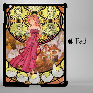 Giselle Stained Glass iPad 2, iPad 3, iPad 4, iPad Mini and iPad Air Cases - iPad