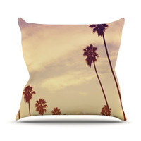 "Catherine McDonald ""Endless Summer"" Outdoor Throw Pillow, 26"" x 26"" - Outlet Item"