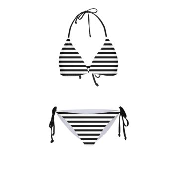Striped Women's Bikini