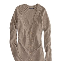 AE Mixed Stitch Cardigan | American Eagle Outfitters