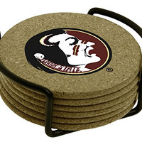 Thirstystone Florida State University with Holder Included Cork Gift Set