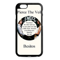 Pierce The Veil Song Lyrics Band iPhone 6 Case