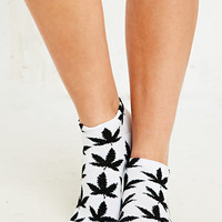 Weed Trainer Socks in Black and White - Urban Outfitters