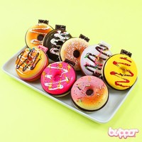 Squishy Doughnut pocket mirror & keychain