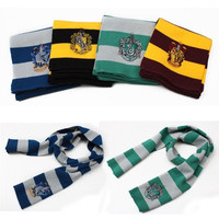 Gryffindor Hufflepuff Knit Scarf Slytherin Cosplay Costume Hot Sale pdb = 1957904644