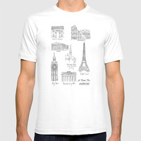 Europe at a glance T-shirt by Color and Color