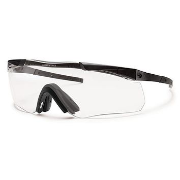 Smith - Aegis Echo II Asian Fit Black Sunglasses / Clear Lenses