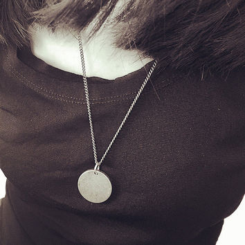 New Arrival Shiny Gift Jewelry Stylish Stainless Steel Pendant Necklace [9664458959]