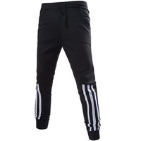 Mens Joggers Casual Harem Sweatpants Casual Pants Trousers Sarouel Men Tracksuit Bottoms For Track Joggers Trousers BL