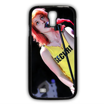 Hayley Williams Paramore Singer Samsung Galaxy S4 Case