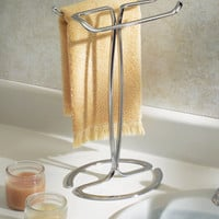 Axis Fingertip Towel Holder, Chrome