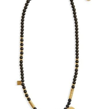 Madewell Beaded Charm Necklace | Nordstrom