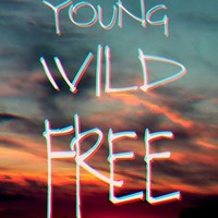 Young Wild Free Art Print by M✿nika  Strigel	 | Society6