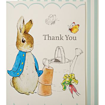 Peter Rabbit Thank You Cards- Individual