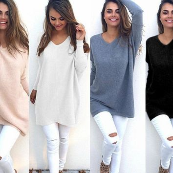 Simple casual sweater shirt
