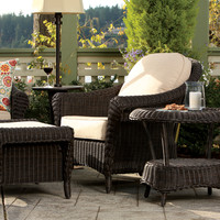 Thos. Baker 4-piece outdoor lounge seating set from the cottage collection