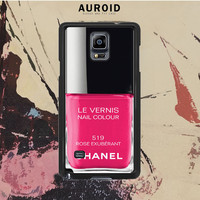 Chanel Nail Polish Rose Exuberant Samsung Galaxy Note 3 Case Auroid