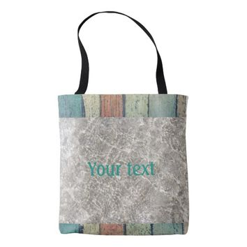 Boardwalk and sandy water tote