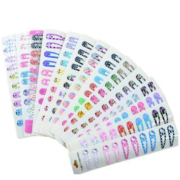 30Pcs/lot Cartoon Printing BB Clips Girls' Hairpin Kids Hair Clips Children Hair Accessories