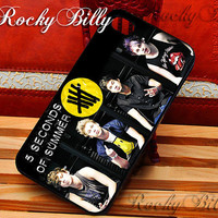 5 Second Of Summer Inspired for iPhone 4/4s/5/5s/5c - iPod 2/4/5 - Samsung Galaxy s2/s3/s4/s5 - Black/White