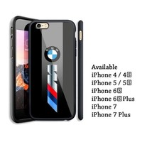 Best BMW M Series Logo Automotive iPhone 6 6s 7 8 X Plus Hard Plastic Case