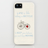 Bike Love iPhone Case by Gabriela Da Costa | Society6