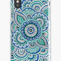 'Ocean Waves' iPhone Case/Skin by Sarah Oelerich