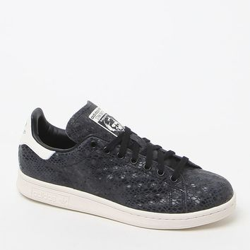 adidas Stan Smith Black Low-Top Sneakers - Womens Shoes - Black