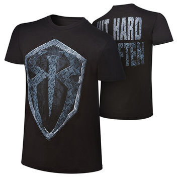 "GILDAN Men t-shrit Roman Reigns ""Hit Hard, Hit Often"" Special Edition T-Shirt"