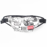 Men's and Women's Supreme Chest Pockets Oxford Casual Riding Bag 025