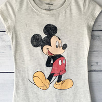 Mickey Mouse Beige T-Shirt
