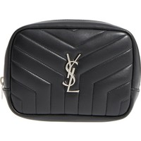 Saint Laurent Loulou Matelassé Leather Cosmetics Case | Nordstrom