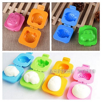 set of 6 bento lunchbox Egg Mold, Sushi Rice Mold,Sandwiches Maker, Sushi tool ,moon cake mold,rice roll maker