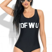 IDFWU One Piece Swimsuit