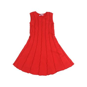 Soho Panel Dress - Racing Red