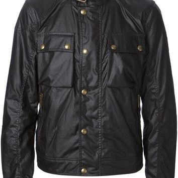 Belstaff zip and press stud jacket