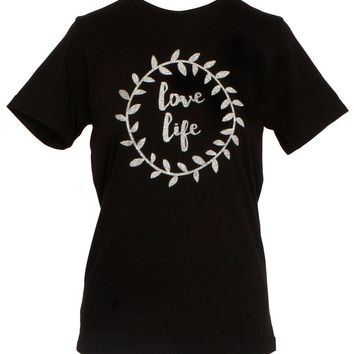 Love Life Women's Sparkly T-shirt