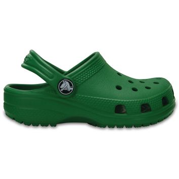 Beauty Ticks Crocs Kelly Green Classic Clog