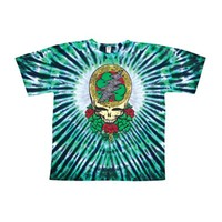Grateful Dead Men's  Celtic Shamrock Tie Dye T-shirt Multi