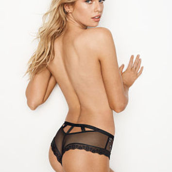 Strappy Dot Mesh Thong Panty - Very Sexy - Victoria's Secret