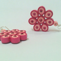 Paper Earring - Quilled Floral earring