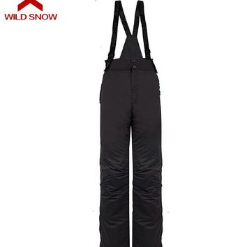 Wild Snow Men's Ski Pants Waterproof and Windproof