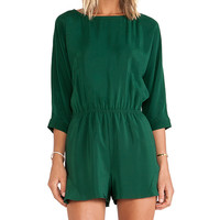 harlyn The Sofia Romper in Green