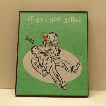 Bioshock All Good Girls Gather Poster
