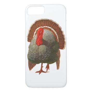 Happy Turkey Day Vintage Turkey iPhone 7 Case