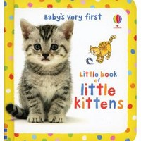 Usborne Books & More. Baby's Very First Little Book of Kittens