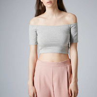 Bardot Crop Top - Topshop