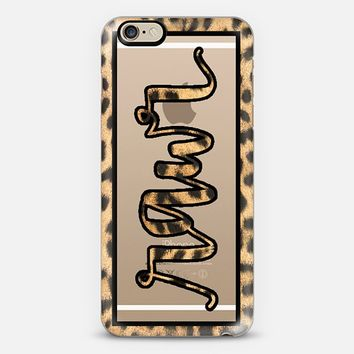 Rawr - Leopard iPhone 6 case by sparkletters | Casetify