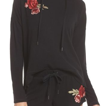PJ Salvage Embroidered Hoodie | Nordstrom